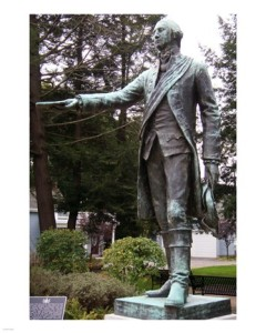 Waterford-GW Statue